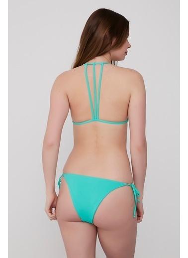 Plumeria Swimwear Bikini Turkuaz